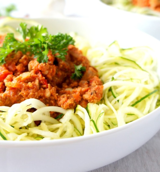 Slow cooker turkey spaghetti bolognese